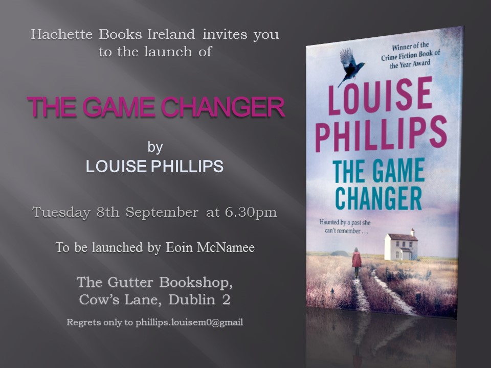 The Game Changer Launch Invitation